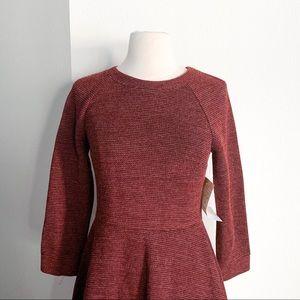 Modcloth Dresses - NWT MODCLOTH Maroon Sweater Dress